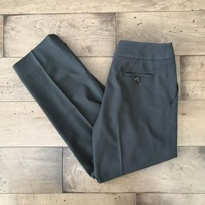 Armani Collezioni Wool Trousers Pants Gray 6